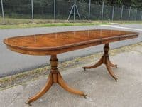 Yew Extending Dining Table to Seat Eigth to Ten People by Rackstraw - SOLD
